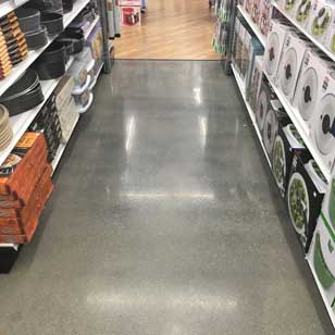 Polished Concrete Floor