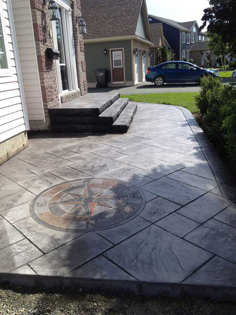 Artesian Stain Stamped Concrete